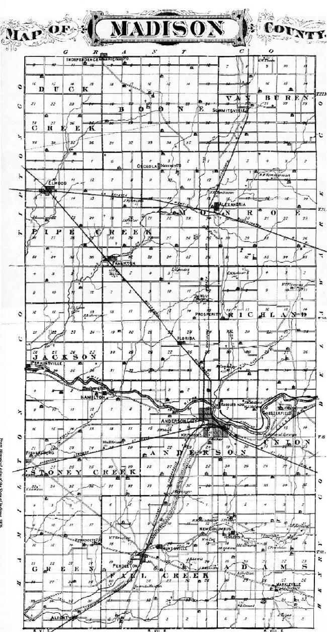 History 1876 Maps